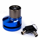 Bike Bicycle Security Anti-Theft Disc Brake Lock - Blue
