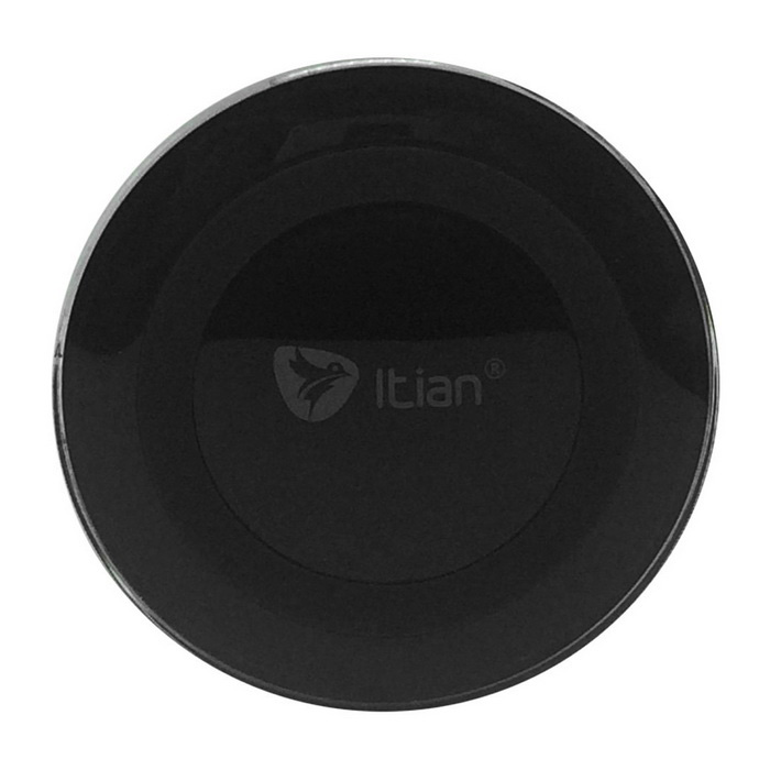 Itian A5-Qi Standard Mobile Wireless Power Charger - Black