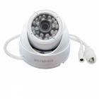 HOSAFE 1.0MP 720P HD IP Camera w/ POE Kit ONVIF - White (US Plugs)
