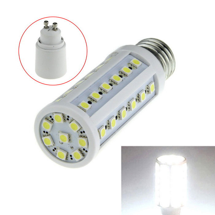 E27 9W 44-LED Cold White Light 800lm 5050 SMD Corn Lamp (AC 85~265V)