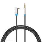 VENTION 3.5mm Male to Male Audio Cable - Black + Blue (102m)