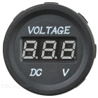 "Automobile Motorcycle Electromobile 0.9"" 3-Digit Red Digital Voltmeter (6~30V)"