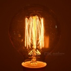E27 40W Tungsten Filament Bulb Lamp Warm White Light 1976K - Golden
