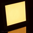 20W Square LED Ceiling Light Lamp Warm White 3000K 100-SMD - White
