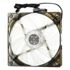 MAIKOU 025A 12cm Quiet PC Chassis Cooling Fan - Black + Translucent White