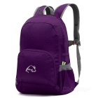 Wind Tour WT051017 Outdoor Hiking Climbing Portable Folding Shoulders Bag Backpack - Purple (25L)
