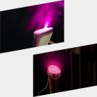 Mini Multifunctional Portable Torch Shaped Handy Humidifier - Purple