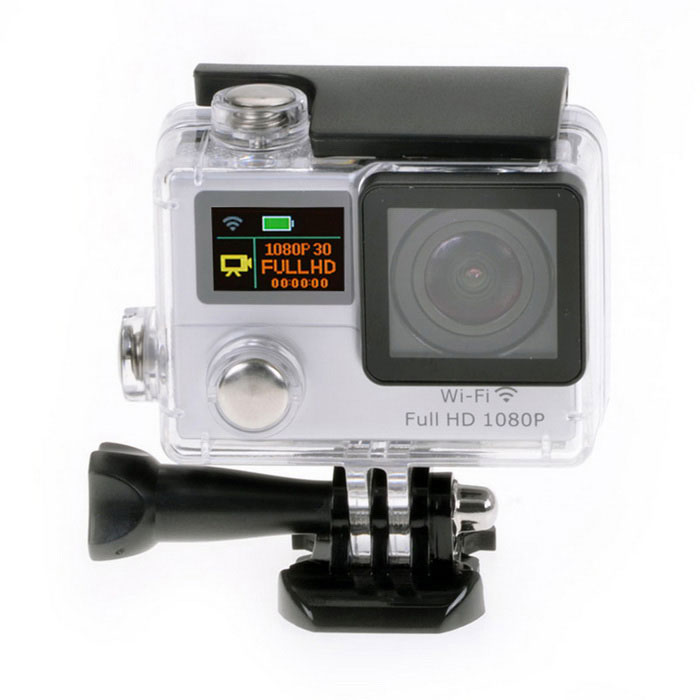 "1080P WiFi Waterproof 2"" LCD 12MP Mini Sport Camera w/ Ultra-wide"