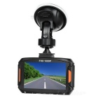 "T03 3"" TFT 1080P FHD CMOS 140' 5.0MP Car DVR w/ LED & G-Sensor - Black"