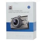 "M9 3.0"" 1080 96655+322 Chipset 5.0MP 170' WDR Car DVR Camera - Silver"