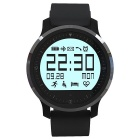 Smart Watch w/ BT, Heart Rate for Android, iOS - Black