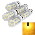 E27 4W 36-LED 900 lm AC220V Warm White 5730 SMD Corn Light Bulb (5 PCS)