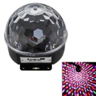 MP3 LED Crystal Magic Ball Lase Stage Light Mini Stage Effect Light with Remote Control