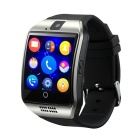 "Q18 1.54"" TFT GSM Smart Watch w/ Remote Camera, Compass - Silver"