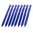 NatureHike Outdoor Camping Aluminum Alloy Tent Peg Ground Spike Nail Stake - Blue (8pcs)