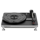 Shenle USB Powered 33/45/78RPM 3-Speed Vinyl Turntable w/ RCA Stereo Output Jacks - Black + Silver