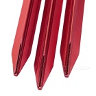 NatureHike Aluminum Alloy Tent Peg Spike Nail Stake - Red (8PCS)