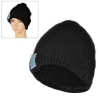 BH-02 Bluetooth V3.0 Music Cap - Black