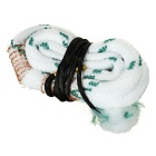 Snake Cleaning Rope Cleaner for 12GA - White + Green + Multi-Colored
