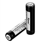 Xpower 18650 2600mAh batterie avec carte de protection - noir (2 pcs)