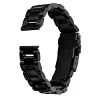Replacement Stainless Steel Watchband for MOTO 360 2 42mm 16mm - Black