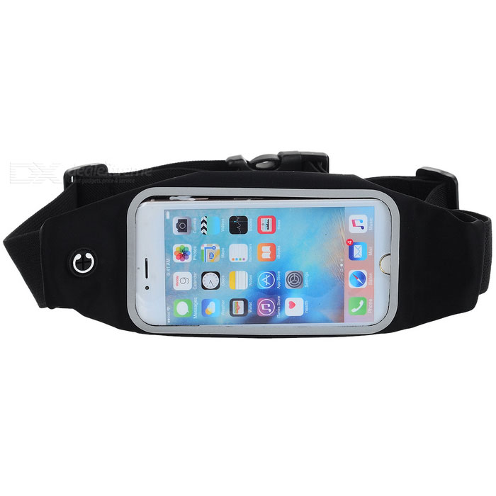 competitive price fc7cc 098d7 Universal Outdoor Sports Waterproof Waist Bag for IPHONE 6 / 6S / Samsung  Galaxy S5 / S6 - Black