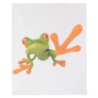 XQW-11 3D Frog Pattern PVC Car Decorative Decal Sticker - Green