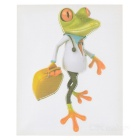 XQW-13 3D Frog Pattern PVC Car Decorative Decal Sticker - Green