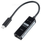 USB 3.1 Type-C to 1000M Network Card w/ Heating Function Hole