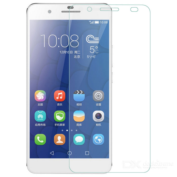 S-What 9H Tempered Glass Screen Guard for Huawei Honor 6 - Transparent