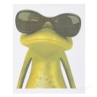 XQW-35 3D Frog Pattern PVC Car Decorative Decal Sticker - Green