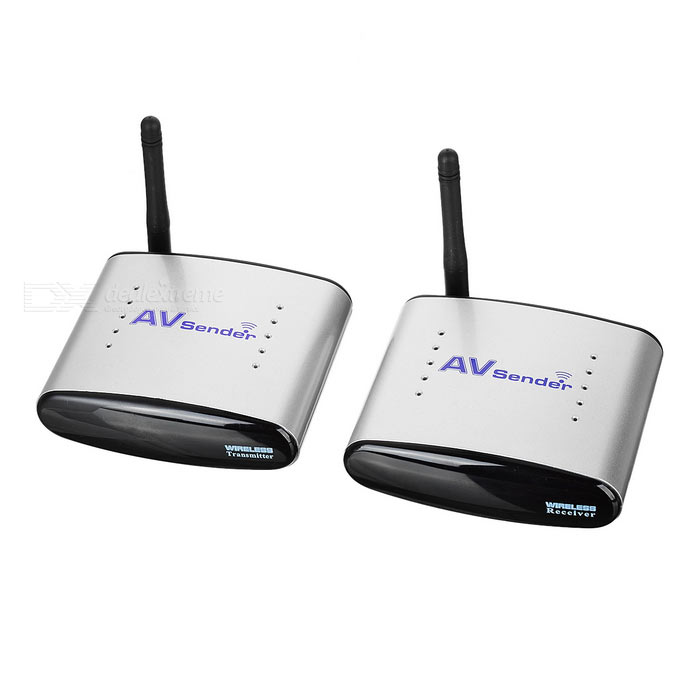 AV Transmitter and Receiver for Digital TV,STB, IPTV Sharing (US Plug)
