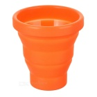 Fire-Maple FMP-319 Outdoor Travel Portable 200ml Silicone Retractable Folding Cup - Orange