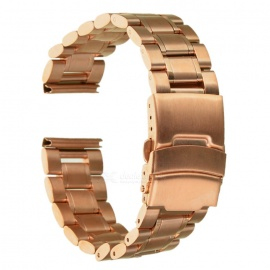 Stainless Steel Watchband for MOTO 360 Version2 42mm 20mm - Rosy Gold