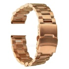 Replacement Stainless Steel Watchband for MOTO 360 Version2 42mm 20mm - Rosy Gold