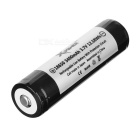 Xpower 18650 3400mAh Battery w/ Protective Cover - White + Black