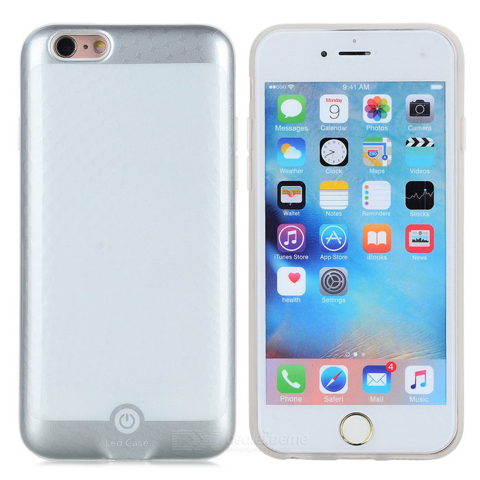 Diy Led Picture By App Back Case For Iphone 6 6s White