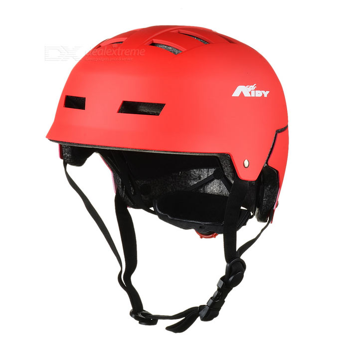 AIDY 16-Hole EPS Safety Helmet for Outdoor Cycling / Skating - Red