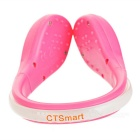 CTSmart Red Light 2-Mode Warning Shoes Wrist LED Clip - Pink + Red