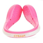 CTSmart Blue Light 2-Mode Safety Shoes Wrist LED Clip - Pink + Blue
