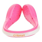 CTSmart Colorful 2-Mode Safety Shoes Wrist LED Clip - Pink + Deep Pink