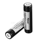 Xpower 18650 3400mAh Battery with Protective Board (2PCS)