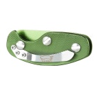 EDCGEAR Convenient 6061 Aluminum Alloy 5-Key Keys Holder - Green