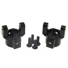 RC Front C- Hub Uprights 2P For AXIAL 1:10 SCX10 Upgrade Parts - Black
