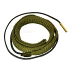 Snake Cleaning Rope Cleaner for Cal & 9mm Calibre Rifle - Army Green