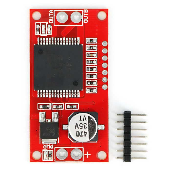 30A High Current Single Motor VNH2SP30 Full-bridge Driver for Arduino