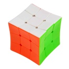 5.7cm Brain Teaser Concave Surface Magic Cube - Blue + Multicolored