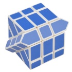 5.7cm Brain Teaser Fisher Cube - White + Blue