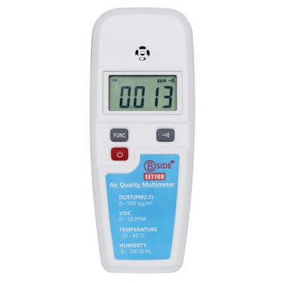 BSIDE EET100 VOC Formaldehyde PM2.5 Air Quality Monitoring Tester