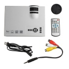 UC40 + 55W HD mini Proiettore Home LED w / HDMI, sd, telecomando (us)